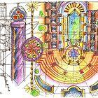 summer sketches by terezadelpilar~ art & architecture