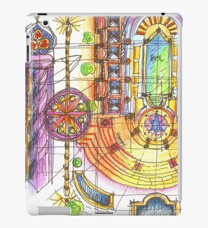 summer sketches iPad Case/Skin