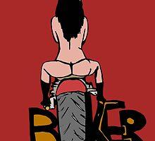 Biker back by Logan81
