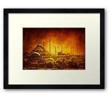 Prophetic Past Framed Print