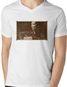 Woody Guthrie Mens V-Neck T-Shirt