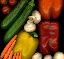 Kat's Bell Peppers by Marsha Tudor