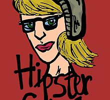 Hipster girl icon by Logan81