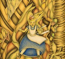 Alice down the rabbit-hole by mciglesias