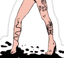 Ink girl Sticker