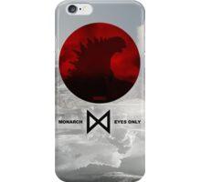 Monarch Eyes Only - Godzilla 2014 iPhone Case/Skin