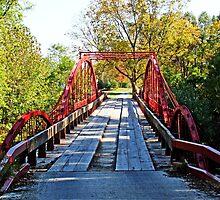 Red Bridge by Sandy Keeton