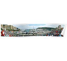 Monaco Grand Prix 2004 Poster