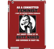 The Modern Feminist iPad Case/Skin