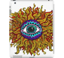 Psychedelic Sunflower - Just the flower iPad Case/Skin