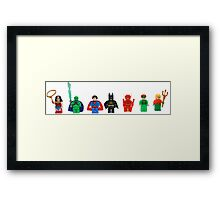 LEGO Justice League of America Framed Print