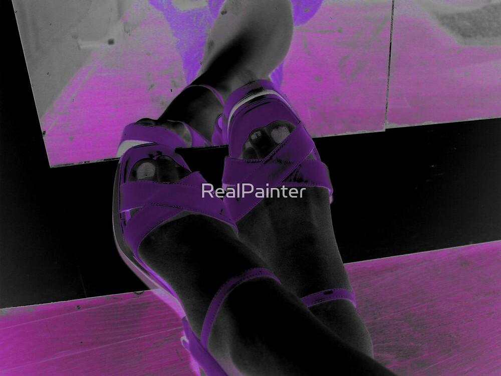 Purple hue Shoesssss by RealPainter