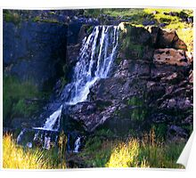 Ais Gill Waterfall Poster