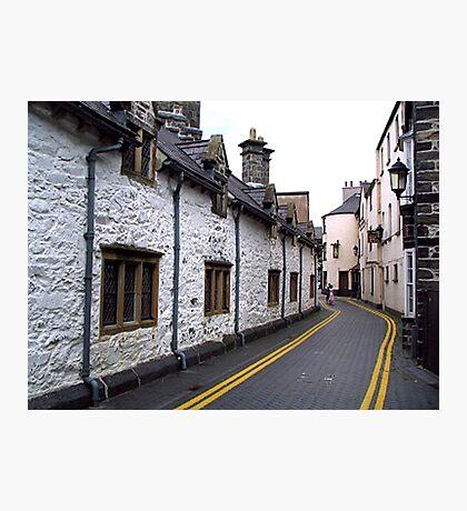 Almshouses - Llanrwst Photographic Print