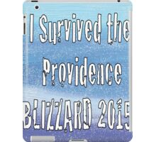 I Survived the Providence Blizzard iPad Case/Skin