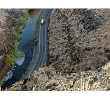 Looking down into picture Gorge Eastern Oregon Photographic Print