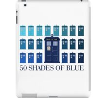 50 SHADES OF BLUE iPad Case/Skin