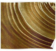 CONCENTRIC GOLD Poster