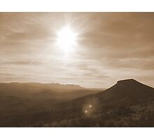 Western Sunset in Eastern Oregon Photographic Print
