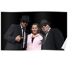 Angi and the Alabama Blues Brothers Poster