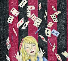 Alice and the pack of cards by mciglesias