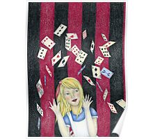 Alice and the pack of cards Poster