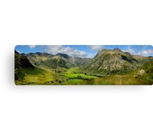 Upper Langdale - Cumbria Canvas Print