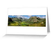 Upper Langdale - Cumbria Greeting Card