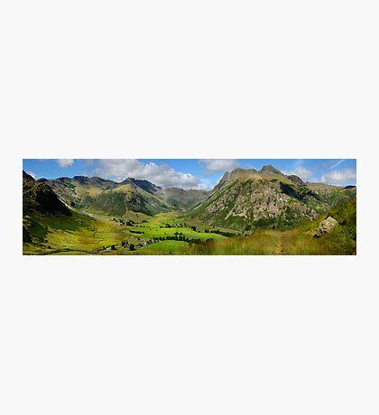 Upper Langdale - Cumbria Photographic Print
