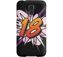 Comic Book 18 pink Samsung Galaxy Case/Skin