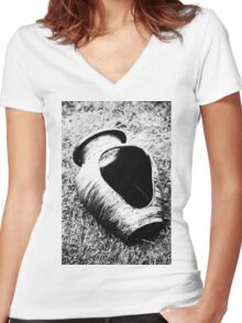 Decorative pottery Women's Fitted V-Neck T-Shirt