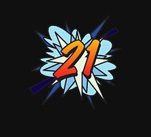 Comic Book 21 blue Unisex T-Shirt