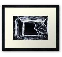 The Introvert - Self Portrait - Pete Klimek Framed Print