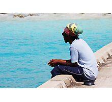 Barbados Fisherman Photographic Print