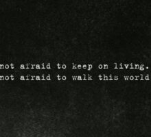 My Chemical Romance - Famous Last Words Sticker