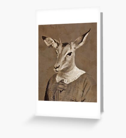 A Letter To W H Greeting Card