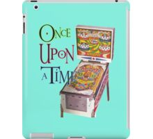 Omce Upon a Time a Pinball iPad Case/Skin