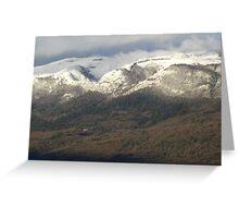 Jura Mountains Greeting Card