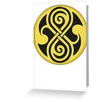 Seal of Rassilon Greeting Card