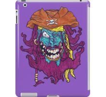 Purple Bearded Pirate  iPad Case/Skin