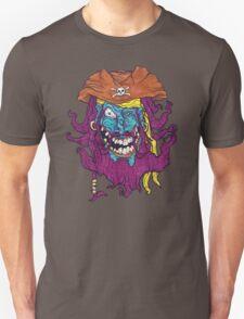 Purple Bearded Pirate  Unisex T-Shirt