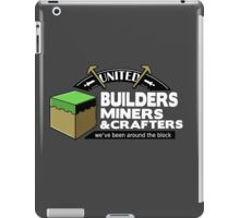 Been Around the Block - Minecraft Shirt iPad Case/Skin