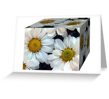 A Box of Daisies Greeting Card