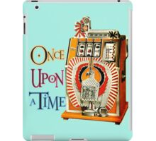 Once upon a time the slot machine iPad Case/Skin
