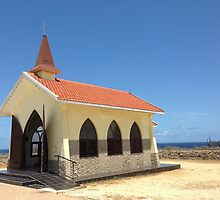 Church on the Beach by franceslewis