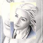 Emilia Clarke miniature by wu-wei