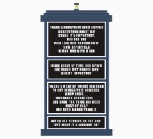 Doctor Who - Tardis Kids Clothes