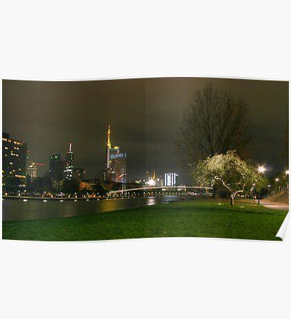 Frankfurt HDR Poster