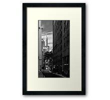 70 Pine Street NYC Framed Print
