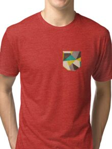 Polygons Tri-blend T-Shirt